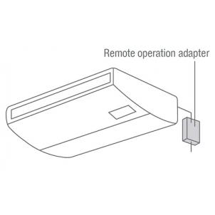 Adapter zdalnej kontroli pracy Mitsubishi PAC-SF40RM-E