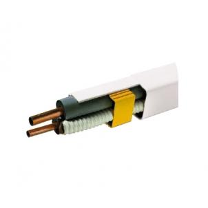 Koryto instalacyjne białe 2m IVENSIS IPDT60