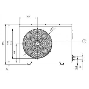Klimatyzatory pokojowy LG Standard Plus PM24SP.UUE (jednostka zewnętrzna)