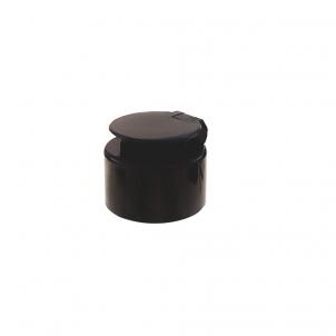 Nakrętka z klapką Flip-Top Cleanairix - czarna