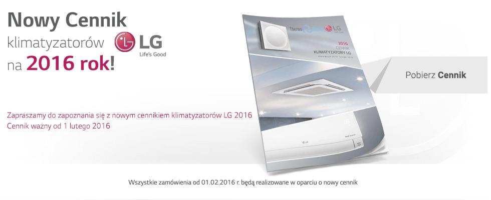Cennik 2016 - Klimatyzatory LG